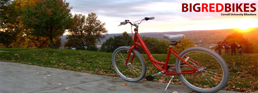 Big Red Bikes - Cornell University (USA)